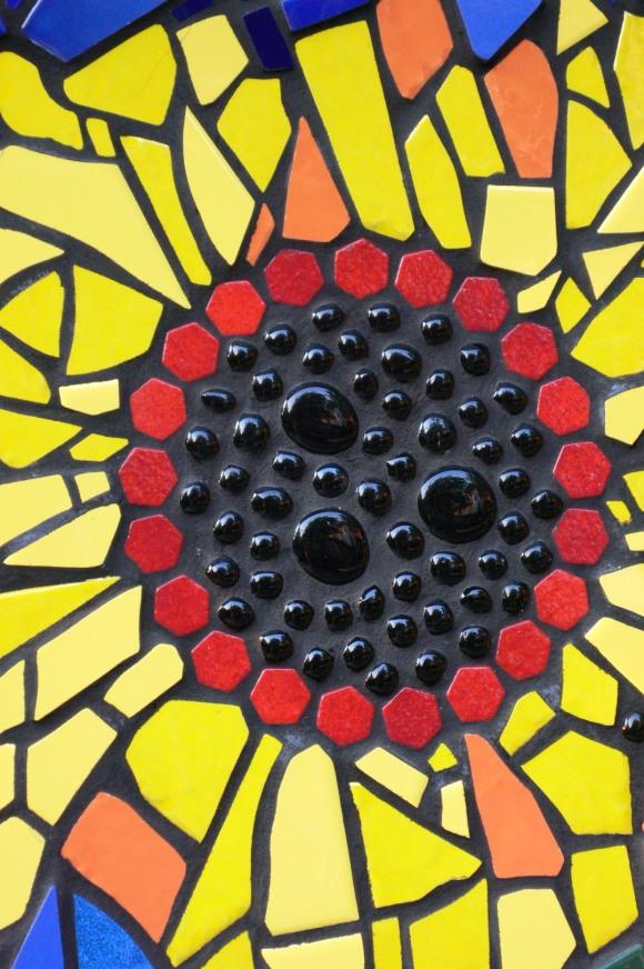 tile sunflower