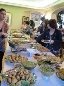 henna party food