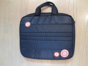 embellished computer bag