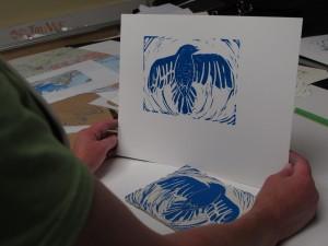 Susan Fae's blue bird image