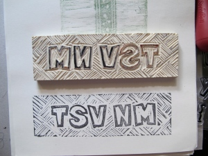 stamp and sample of TSV NM