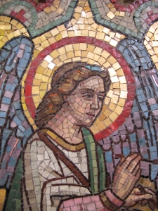 tile mosaic angel 1