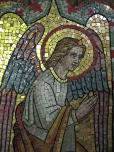 tile mosaic angel 2