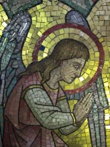 tile mosaic angel 3