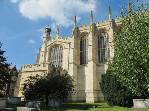 Eton Chapel exterior