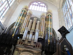 organ in Eton Chapel