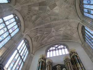 inside Eton Chapel