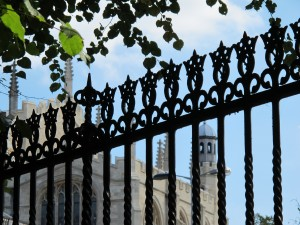 fence near Eton Chapel