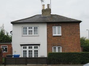 2 tone house