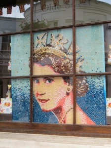 jelly bean Queen Elizabeth