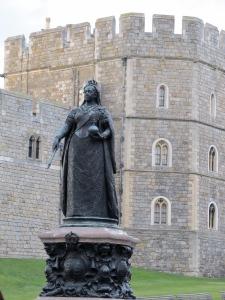 Queen Victoria near Windsor Castle
