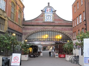 Windsor shopping area