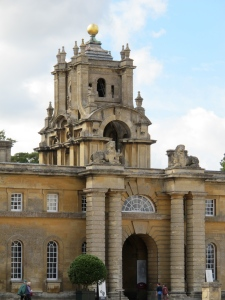 exterior view of Blenheim