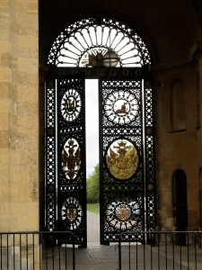 gate at Blenheim