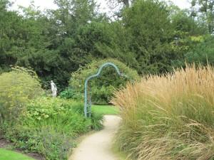 view in the secret garden