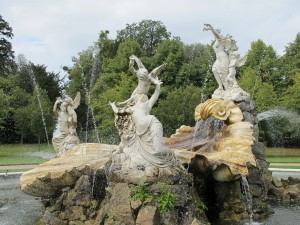 fountain at Cliveden