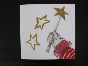 star wand card