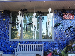 front of house view of Halloween