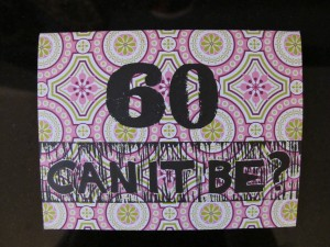 60 can it be? card