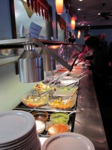 buffet at Glory of India