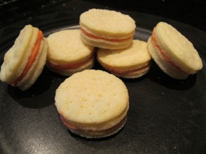 cream wafer cookies