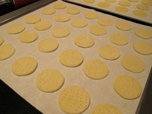 uncooked wafer cookies