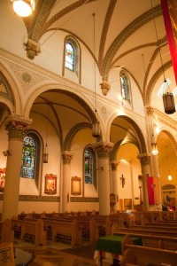 another church interior view