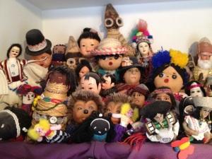 basket of dolls