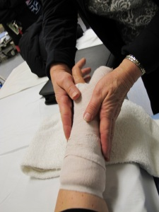 getting my splint