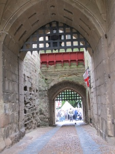 castle archways