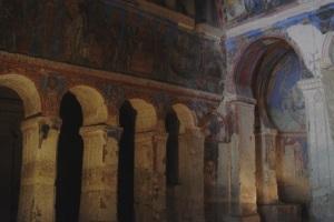 rock church archways
