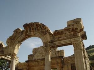 stone archway in Turkey