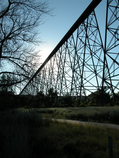 great angle on bridge