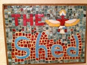 The Shed mosaic