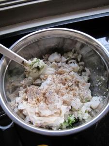fish cake mixture