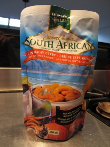 packaged curry mix