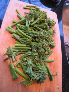 chopped broccolini