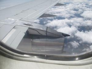 plane view in Peru