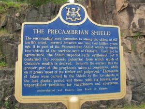 Precambrian sign