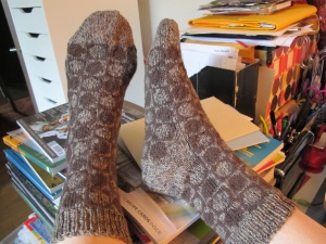 lovely brown socks