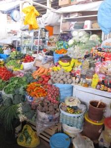 market in Cuzco