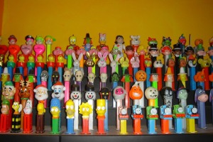 partial Pez collection