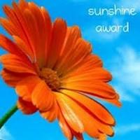 sunshine blog award flower