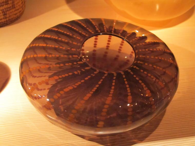 glass basket form