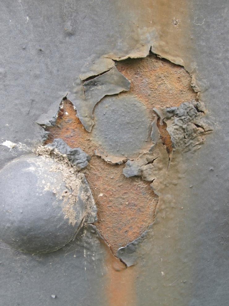 rust on bridge