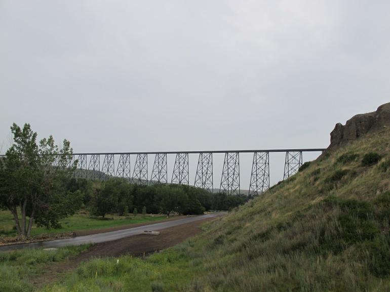 drive near the bridge