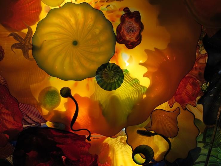 beautiful ceiling glass