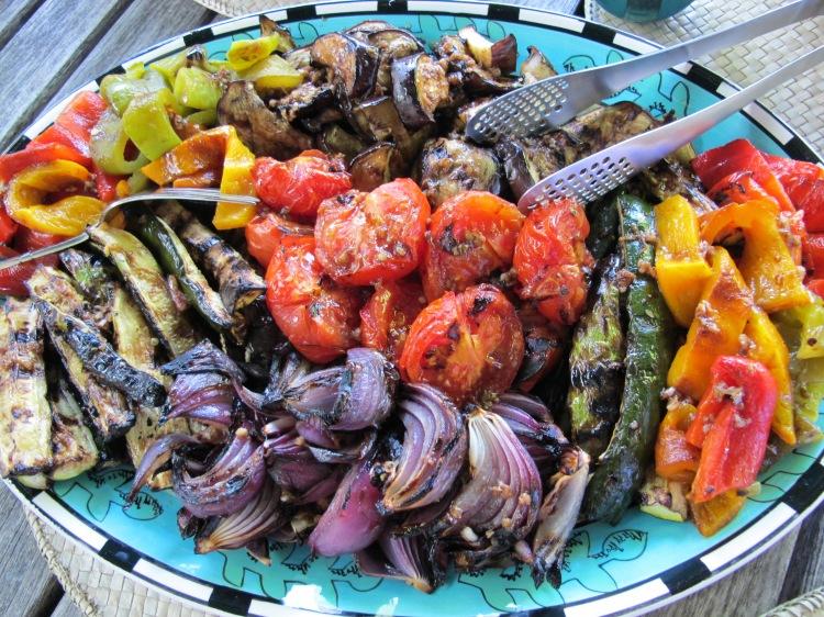 grilled vegtables