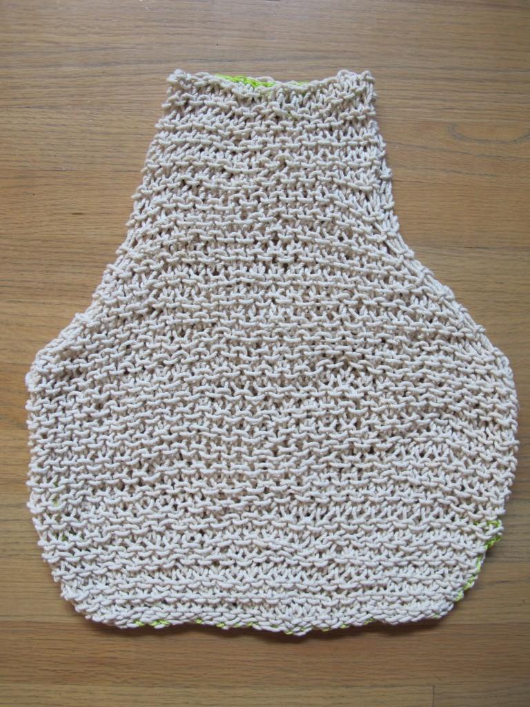 string vest stitched shut