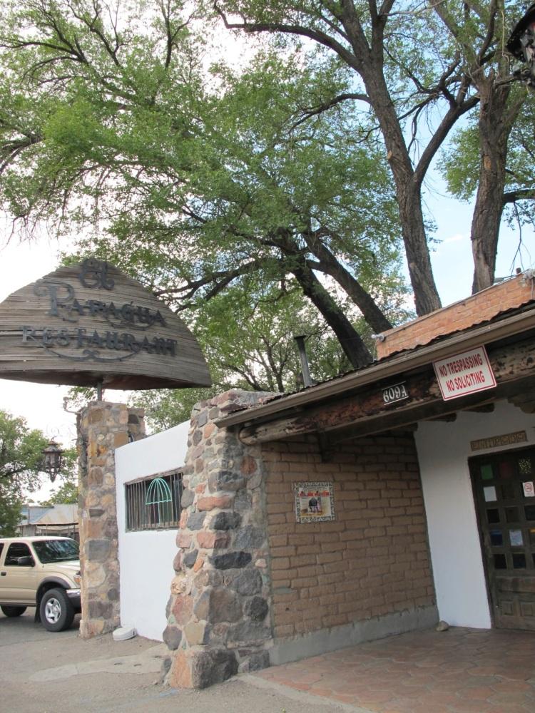 restaurant exterior showing tree